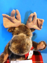 Boyd's Bears Morley P. Moosetrax Brown Moose 2002 Beanbag Plush