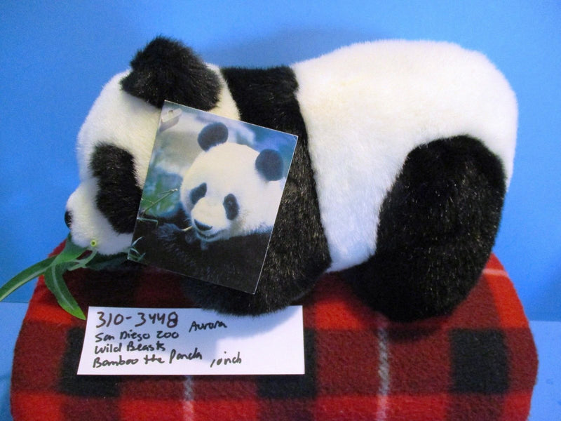 Aurora Wildbeasts Global Conservation Bamboo the Panda Plush