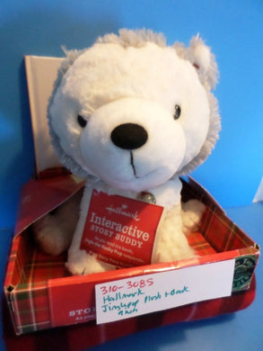Hallmark Interactive Jingle Pup Plush and Book