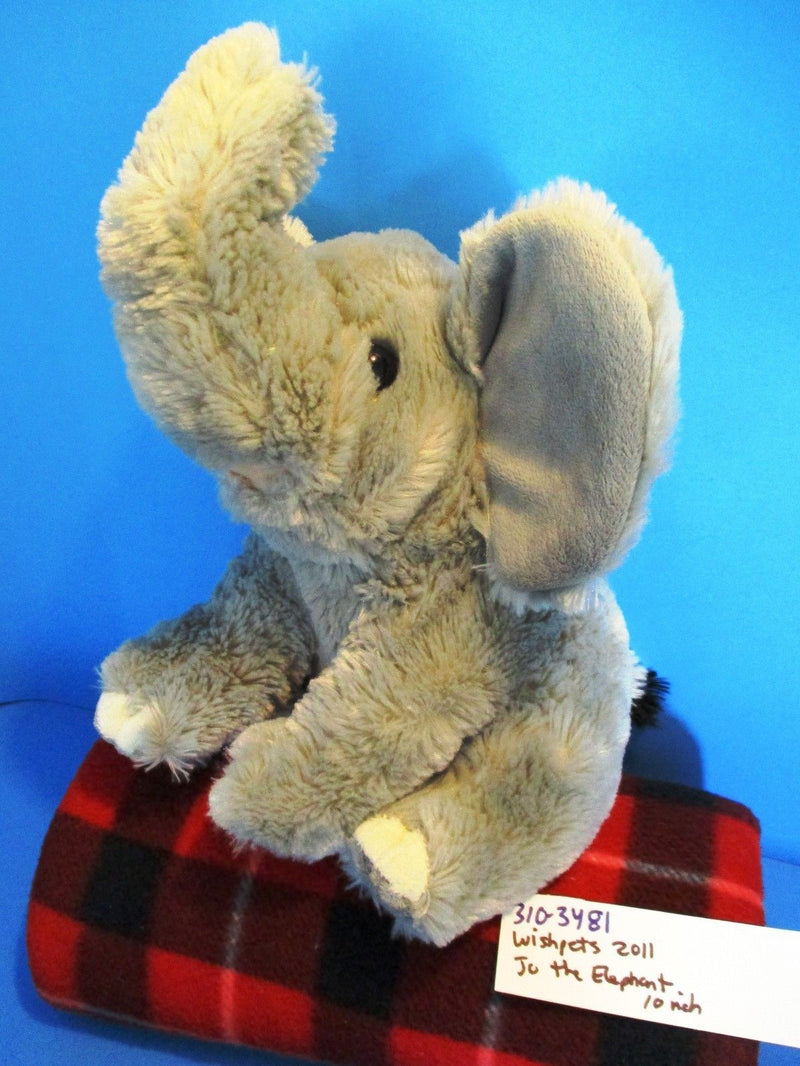 Wishpets Jo the Grey Elephant 2011 Plush