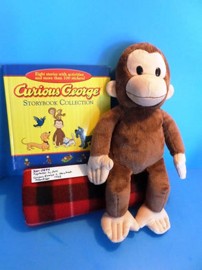 Applause by Russ Curios George plush and Book(310-2894)