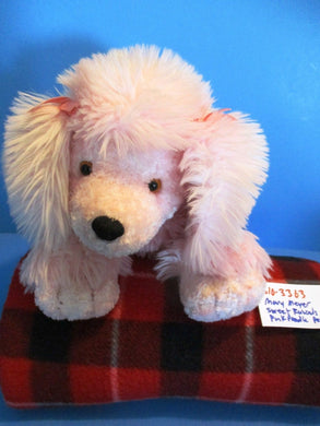 Mary Meyer's Sweet Rascals Penelope the Pink Poodle beanbag plush(310-3363)