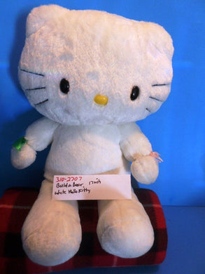 Build-a-Bear White Hello Kitty Plush