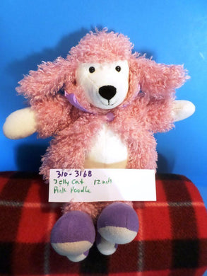 Jellycat Pink Poodle beanbag plush(310-3168)