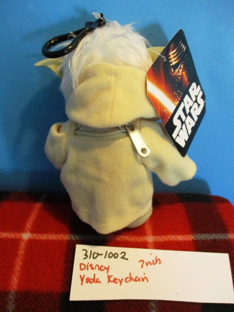 Accessory Innovations Disney Star Wars Yoda Plush Clip Keychain