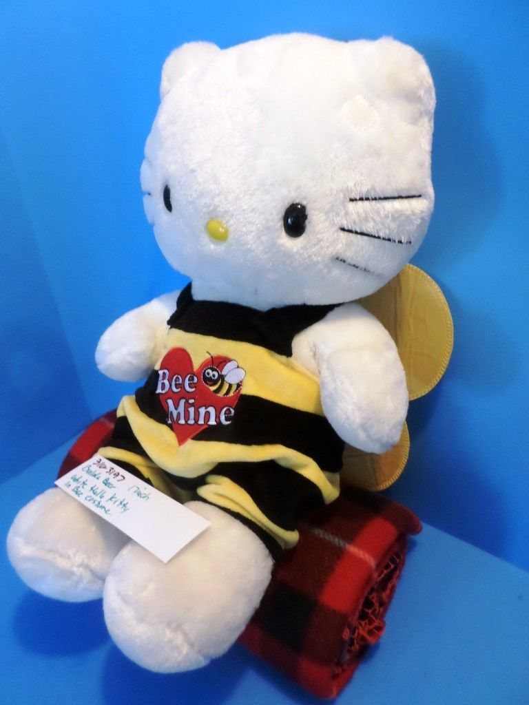 Build-A-Bear Hello Kitty in Bee Costume Plush