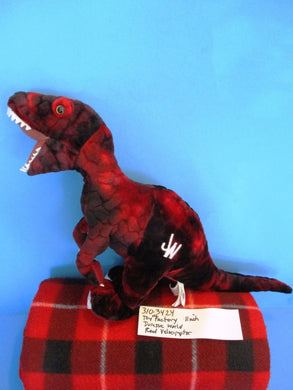 Toy Factory Jurassic World Red Velociraptor Plush