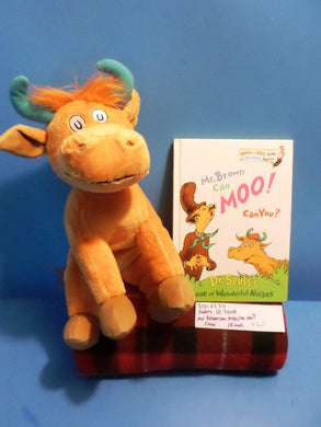 Kohl's Dr Seuss Mr. Brown Can Moo ,Can You