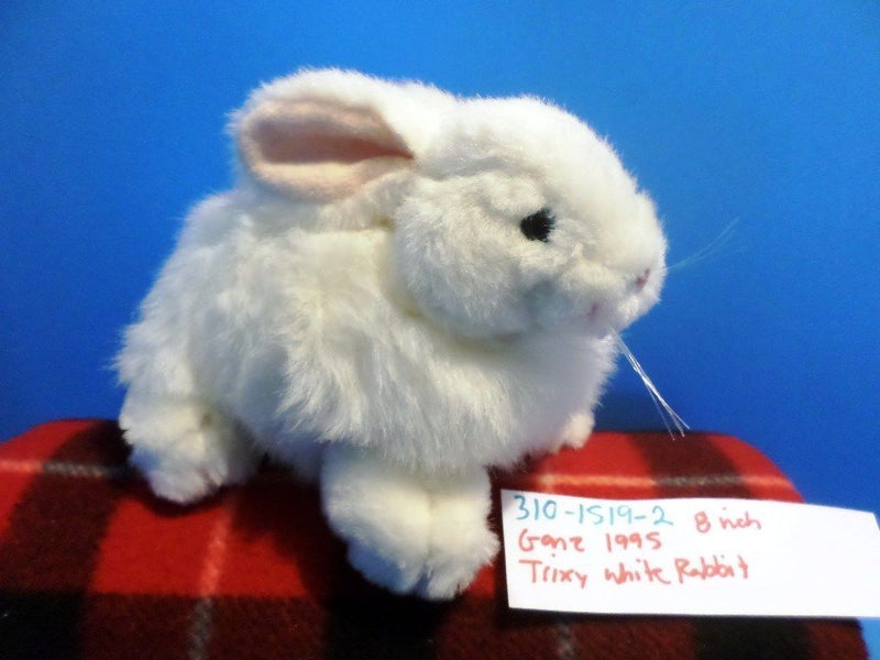 Ganz Trixy the White Bunny Rabbit 1995 Plush