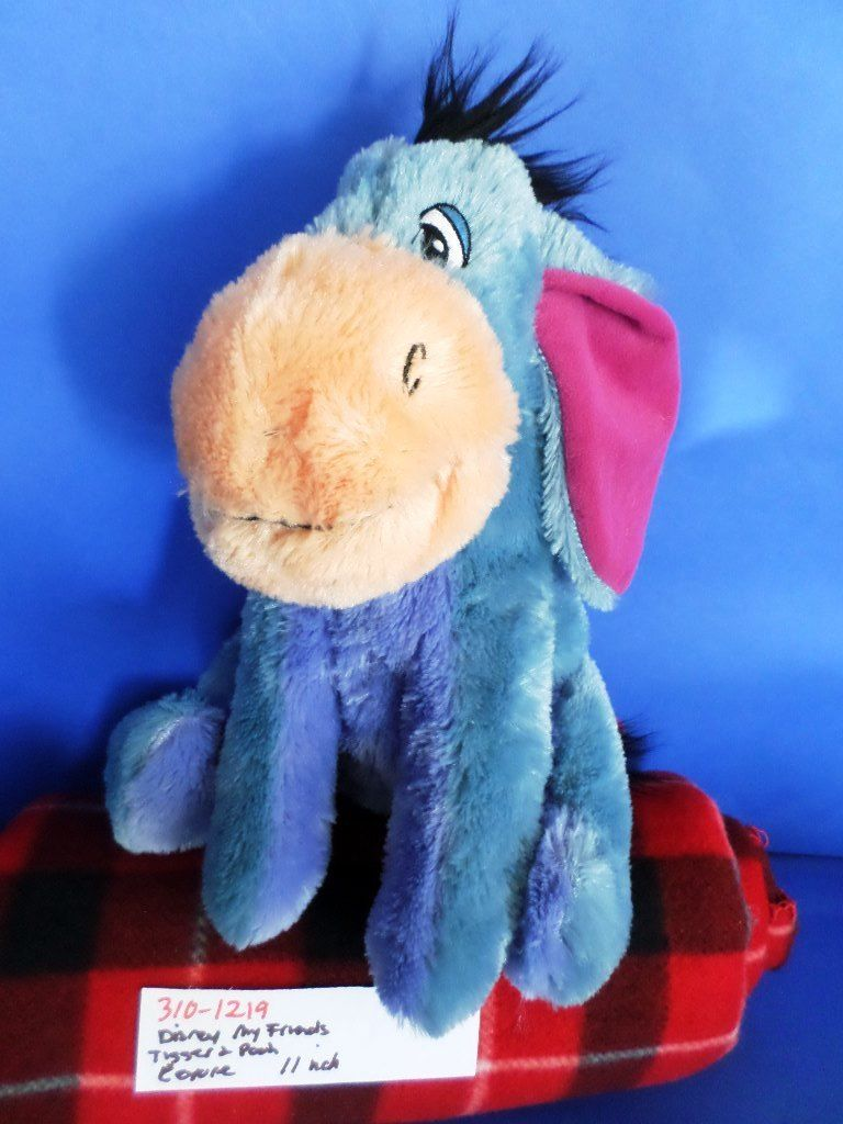 Disney Store My Friends Tigger And Pooh Eeyore Plush