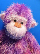 Russ Trembles Shaking and Yelling Purple Monkey Chimp Plush