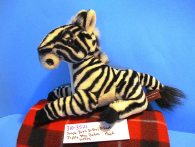 Jungle Joes Safari Fiends Talking Zippy the Zebra plush(310-3521)