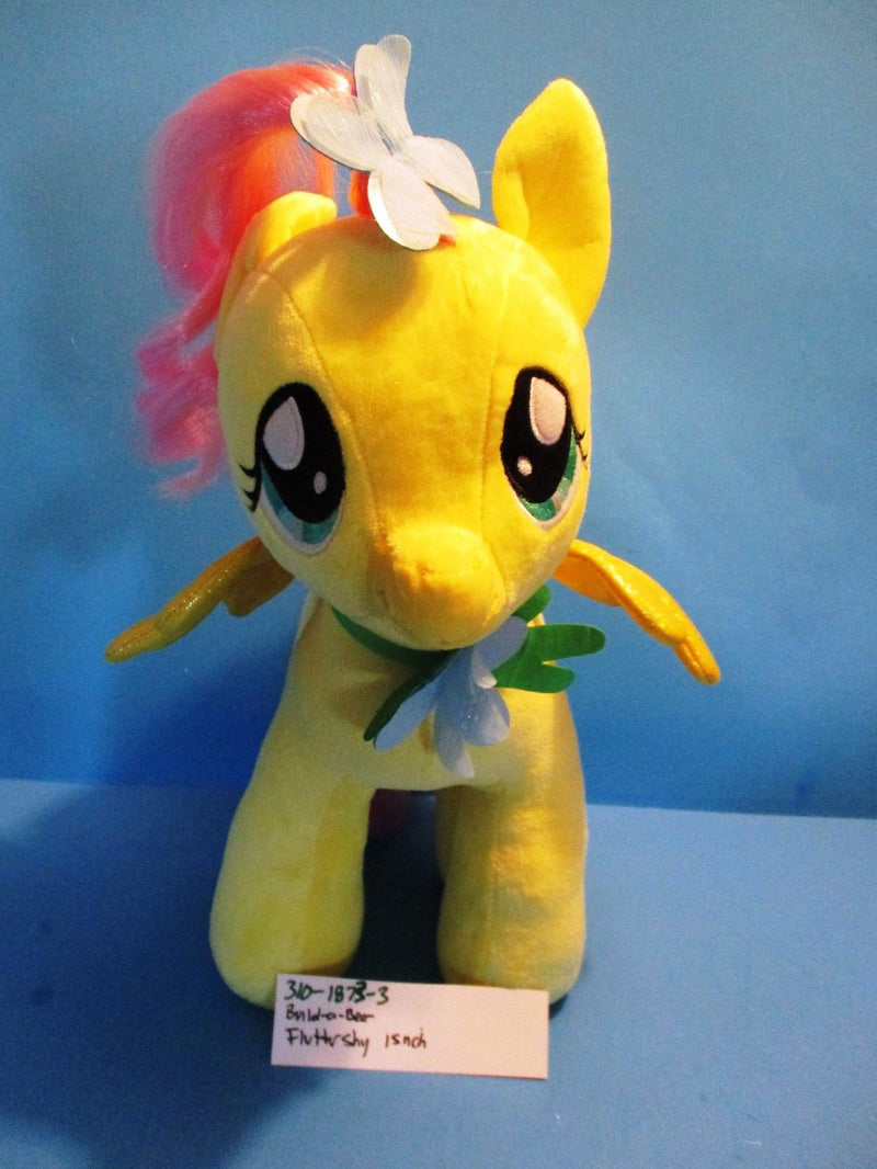 Build-A-Bear My Little Pony Fluttershy with Green Cape Plush