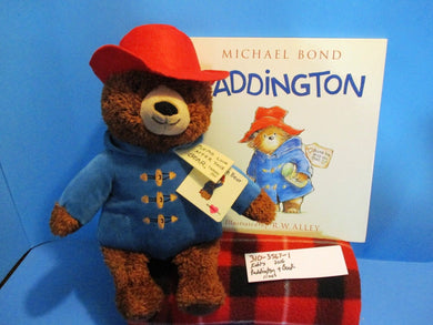 Kohl's Yottoy Paddington 2006 Plush and Book
