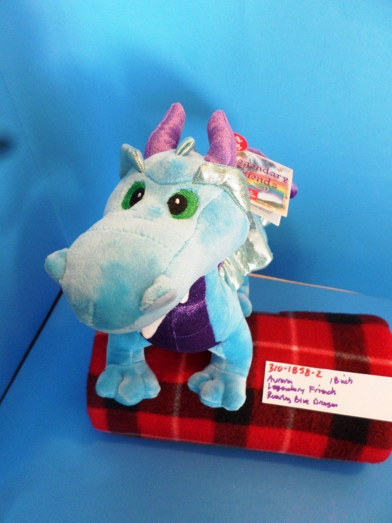 Aurora Legendary Friends Roaring Blue Dragon Plush