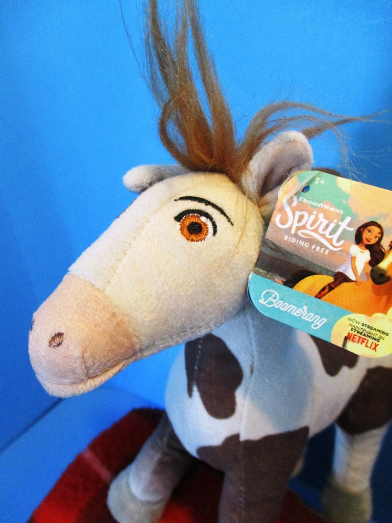 Just Play DreamWorks Spirit Riding Free Boomerang Horse 2017 Plush