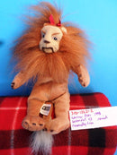 Warner Bros. Wizard of Oz Cowardly Lion 1998 Beanbag Plush