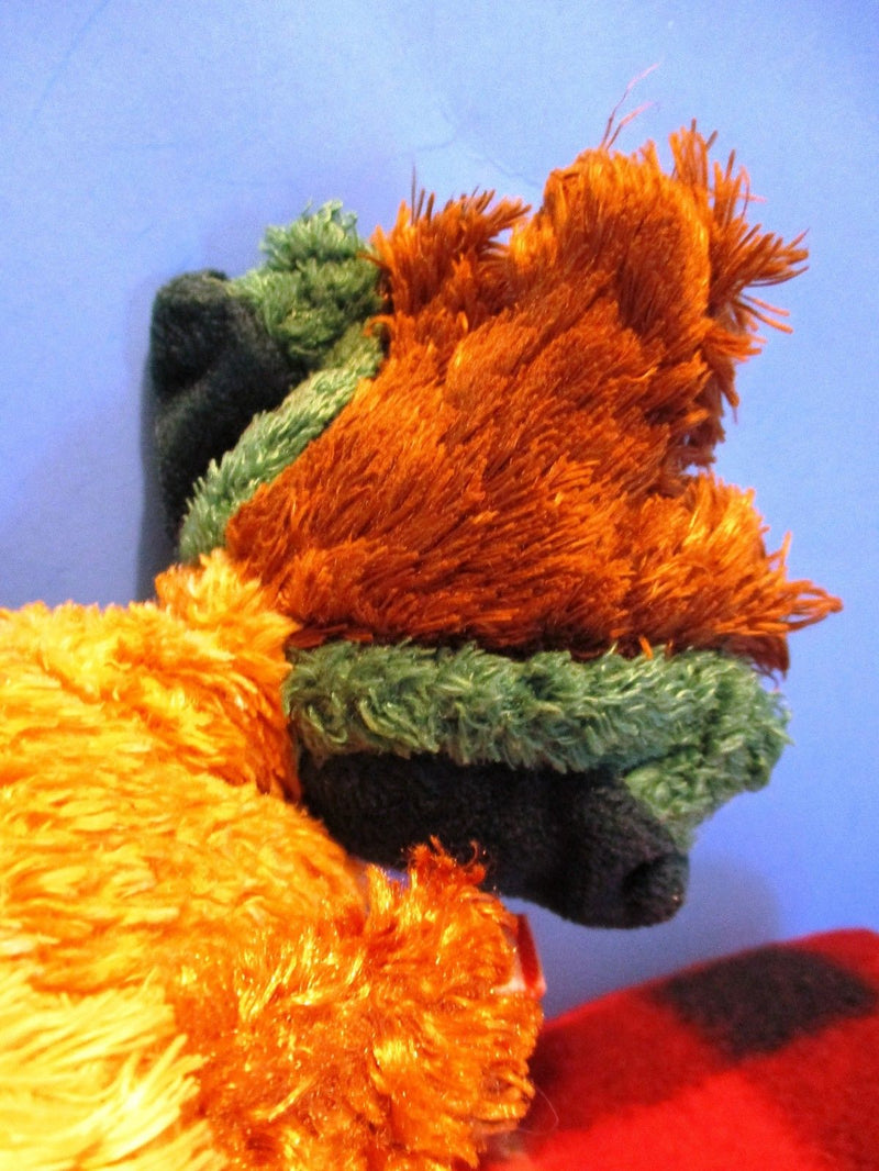Douglas Brown Yellow Headed Rooster Beanbag Plush