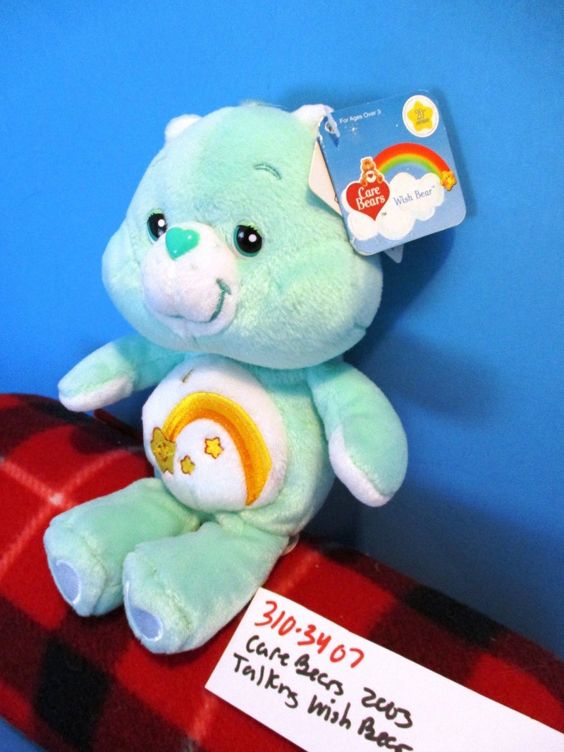 JAKKS Pacific Play Along Care Bears Talking Wish Bear 2003 Plush