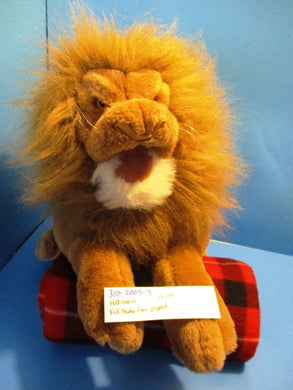 Folkmanis Full Body Lion Puppet Plush