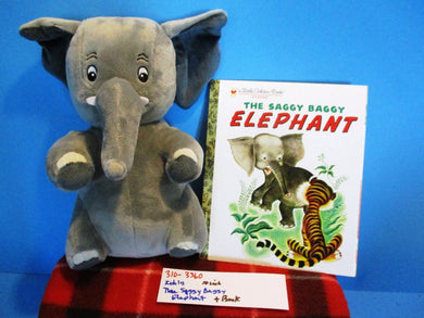 Kohl's The Saggy Baggy Elephant plush and book(310-3360)