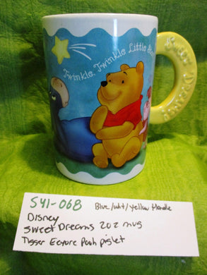 Disney Sweet Dreams 20 oz. Mug Cup With Pooh Piglet Tigger Eeyore(541-068)