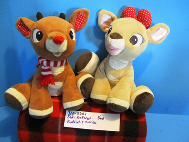 Kids Preferred Rudolph and Clarice Reindeer Plush