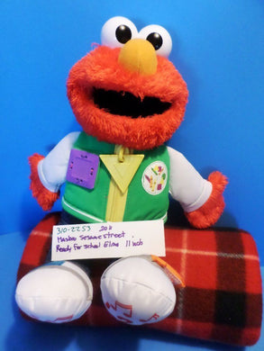 Hasbro Sesame Street Ready for School Elmo 2011 Plush
