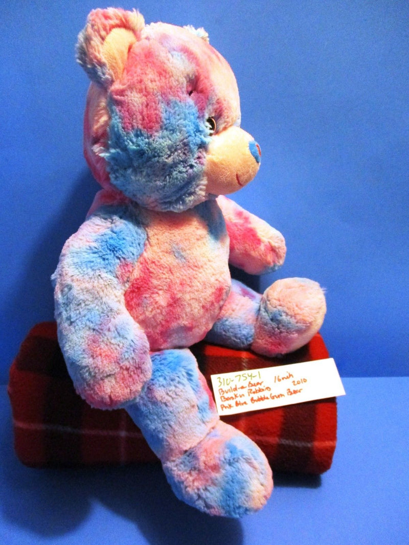 Build-A-Bear Baskin Robbins Bubblegum Ice Cream Bear 2010 Plush