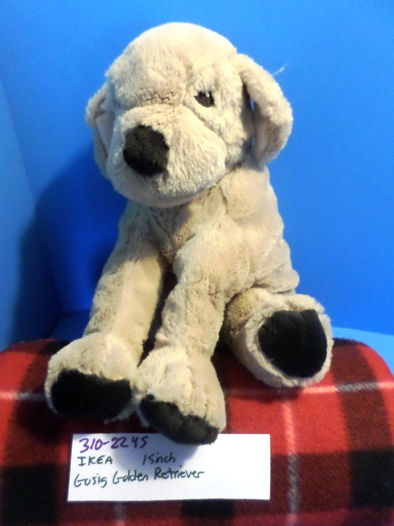 IKEA Gosig Golden Retriever Plush