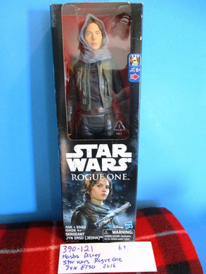 Hasbro Disney Star Wars Rogue One Jyn Erso 2016 Action Figure(390-121)