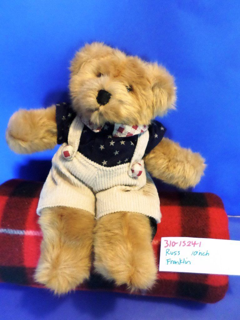 Russ Franklin Patriotic Teddy Bear Plush
