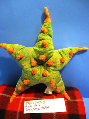Fiesta Green and Orange Starfish plush(310-1547-2)