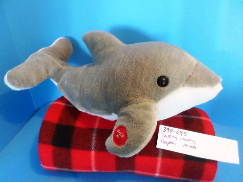 Sea World Dolphin Talking Moving Plush