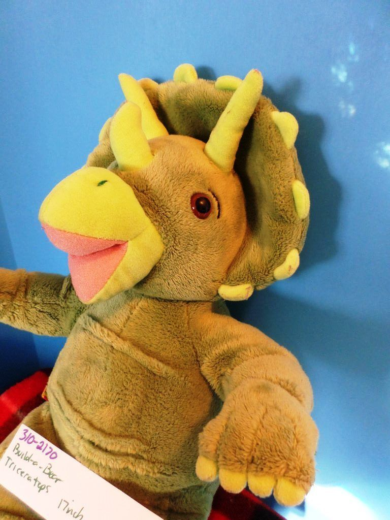 Build-A-Bear Triceratops Dinosaur Plush