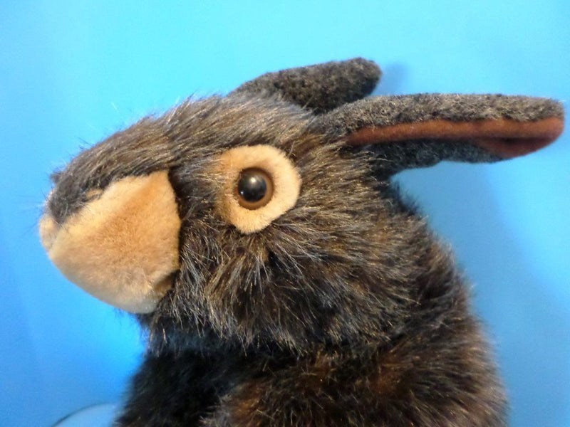 A&A Fancy Zoo Brown Bunny Rabbit Puppet