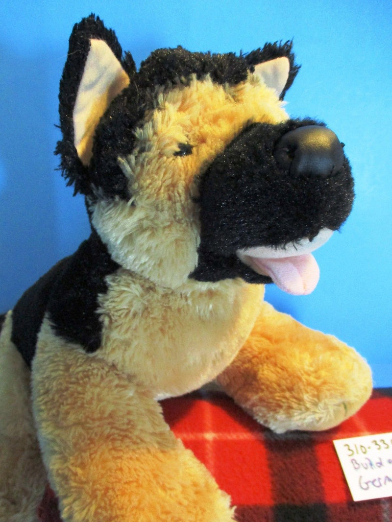 Build-A-Bear German Shepherd and Puppy Plush