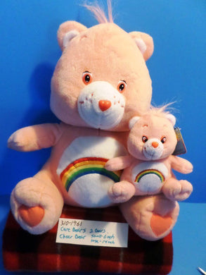 Nanco Care Bears Two Cheer Bears Plush