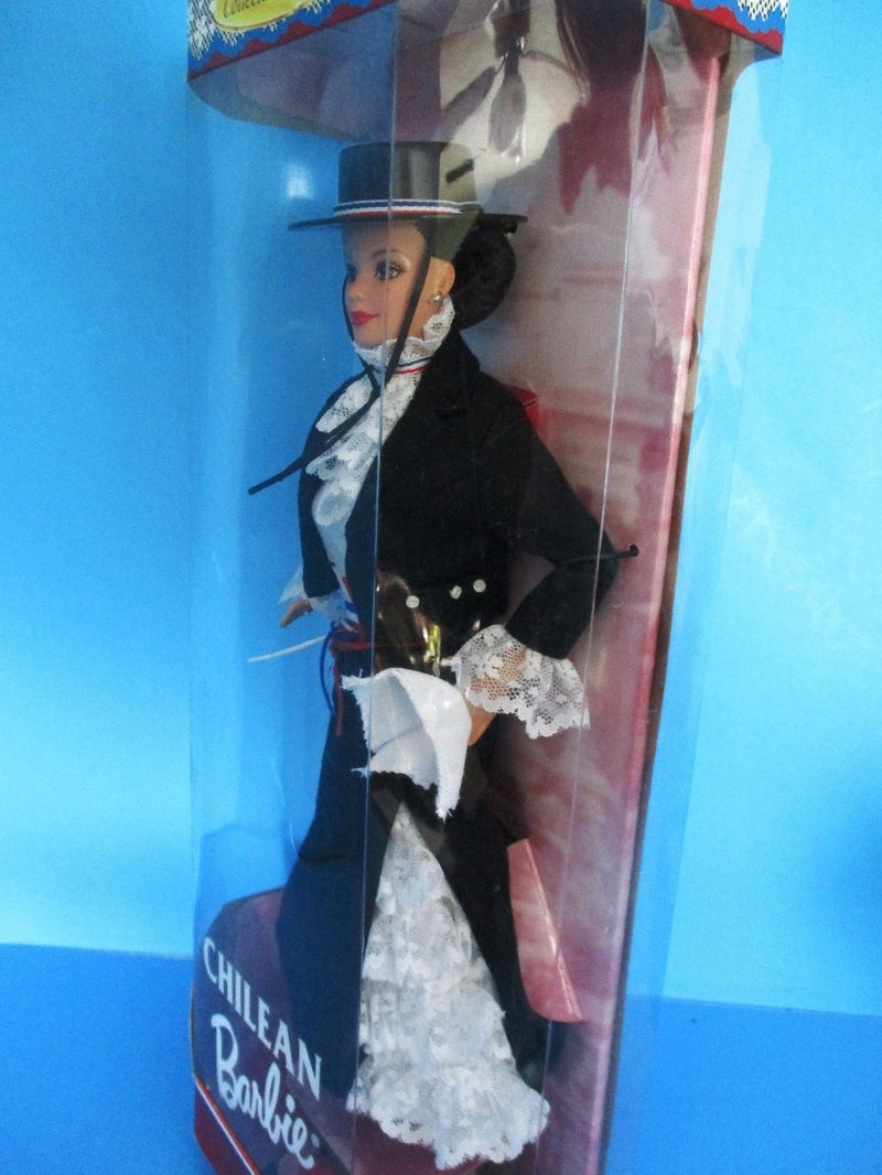 Mattel Barbie Collecter Edition Dolls Of the World Chilean 1997 Doll