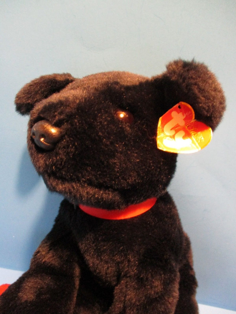 Ty Classic Tugger the Black Lab 2004 Beanbag Plush