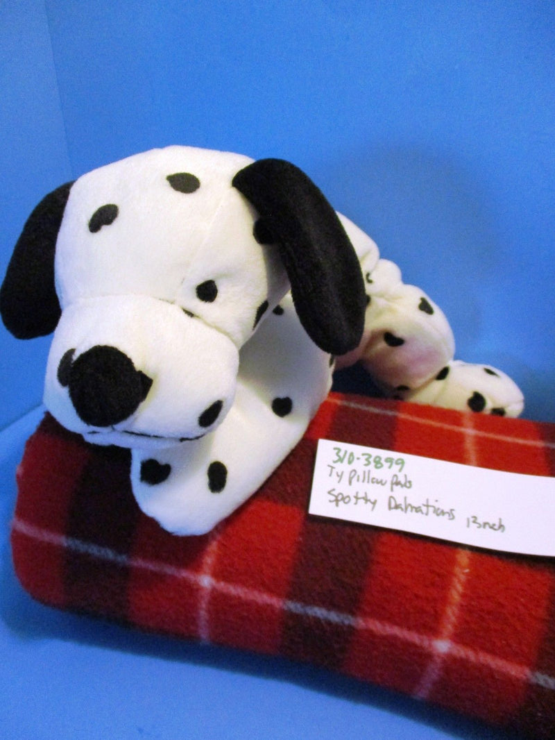Ty Pillow Pals Spotty Dalmatian 1997 Plush