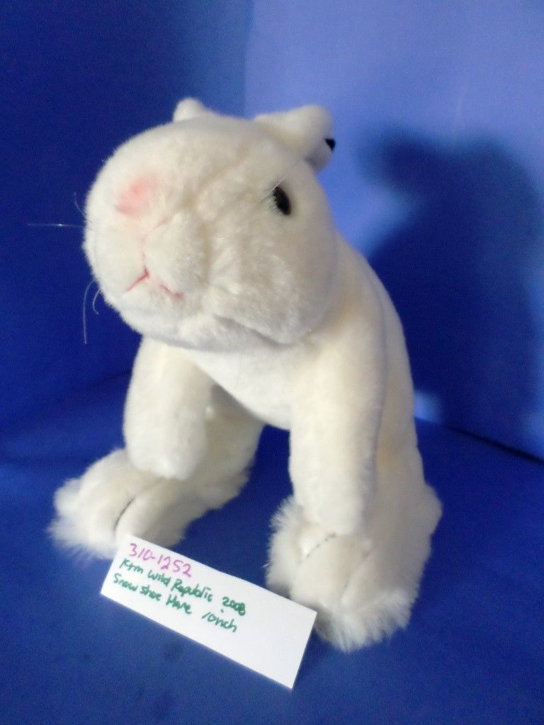 Wild Republic Snowshoe Hare 2008 Plush