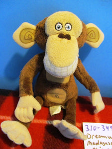 DreamWorks Madagascar Escape 2 Africa Phil the Chimp 2008 plush(310-3499)