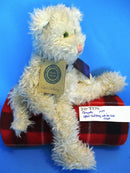 Boyd's Bears Opel Catberg White Cat 1999 Beanbag Plush