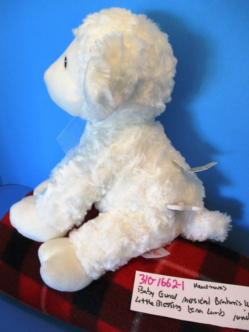 Baby Gund Little Blessings Lena Lamb Musical Plush