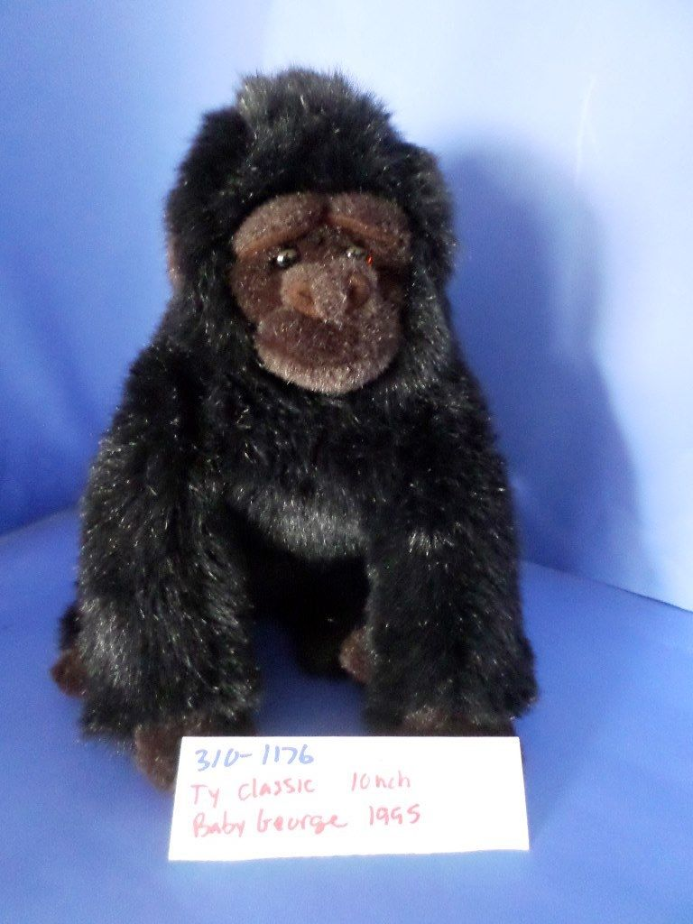 Ty Classic Baby George the Gorilla 1995 Beanbag Plush