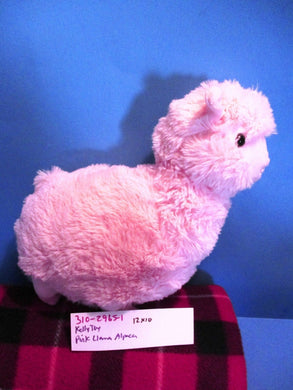 Kelly Toy Pink Llama/Alpaca plush(310-2965-1)