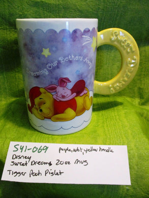 Disney 20 oz. Sweet Dreams Mug Cup with Pooh Piglet Tigger(541-069)
