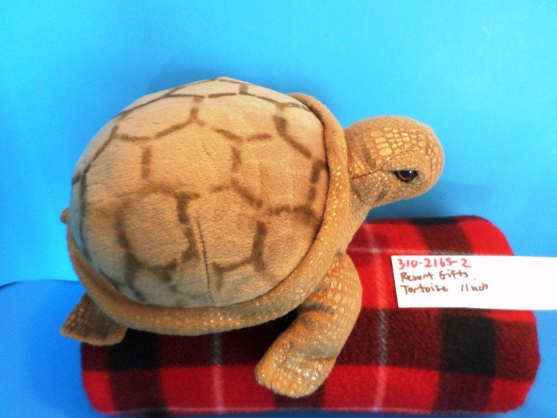 Resort Gifts Tan Tortoise Turtle Plush
