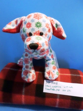 Ganz Webkinz Snowflake Pup HM691 with sealed code Plush (310-3008)